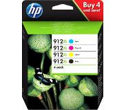 HP 912XL Inktcartridge 4-pack