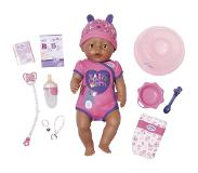BABY born Interactieve Soft Touch Pop Brown Eyes met Accessoires