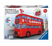 Ravensburger 3D Puzzel - London Bus (216 stukjes)