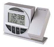 Technoline Radio Controlled Alarm Clock with Projection Zilver