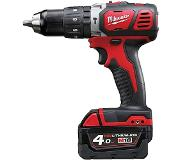 Milwaukee M 18 BPD 402 C 18 V accu klop boormachine set 2 x 4