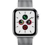 Apple watch series 5 gps + cell 44mm steel case milanese loop