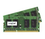 Crucial 4GB DDR3 1600 MT/s Kit 2GBx2 SODIMM 204pin CL11