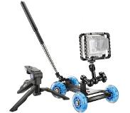 Walimex pro dolly action set voor gopro