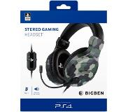 BigBen Interactive PS4 Stereo Gaming Headset V3 Camo