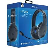 PDP LVL50 Wired Headset - PlayStation 4 - Grijs
