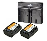 Jupio 2x Battery NP-FZ100 2040mAh + USB Dual Charger Kit (CSO1004V3)