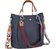 Lassig luiertas met verzorgingsmatje, »Green Label Mix'n Match Bag, Denim Blue«