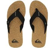 Quiksilver Molokai Abyss Cork Sandals black / brown / brown