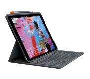 Logitech Slim Folio Apple iPad (2019) Toetsenbord Hoes QWERTY