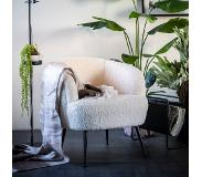 By-Boo Fauteuil 'Babe', kleur Wit