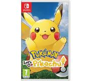 Nintendo Pokemon Let's Go Pikachu Switch
