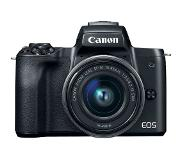 Canon EOS M50 Body Zwart + 15-45mm IS STM