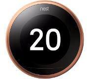 Google Learning Thermostat V3 Premium Koper