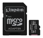 Kingston microSDXC Canvas Select Plus 64GB 100 MB/s + SD adapter