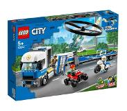 LEGO en Playmobil: LEGO City 60244 Helikoptertransport