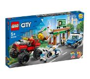 LEGO en Playmobil: LEGO City 60245 Politiemonstertruck Overval