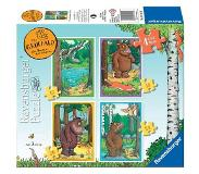 Ravensburger The Gruffalo Puzzel, 4in1