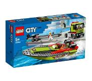 LEGO LEGO City 60254 Raceboot Transport
