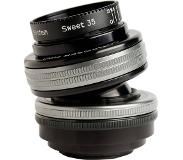Lensbaby Composer pro II Micro Four Thirds met Sweet 35