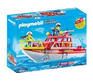 Playmobil City Action Brandweerboot 70147