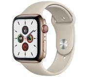 Apple Watch Series 5 GPS + Cell 44mm Steel Case Gold Sport Band