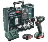Metabo accuboormachine PowerMaxx BS12 set 12V met 2 accu's