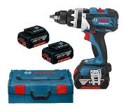 Bosch GSR 18 VE-EC 18V Li-Ion accu schroef-/boormachine set in L-boxx (3x 5,0Ah accu) - 75Nm