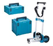 Makita MAKPACKX01 Trolley incl. Mbox nummer 2 & Mbox nummer 4