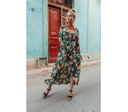 Colourful Rebel Megan Tropical High Low Maxi Dress