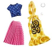 Barbie Fashions outfits 2-pack Polka Dots