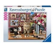 Ravensburger - Puzzle 1000 - My cute kitty (10215994)