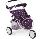 Bayer CHIC 2000 Duo Jogger Stars lila