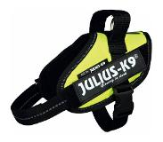 Julius-K9 IDC Powerharness 3 (82-115cm) Neon Geel
