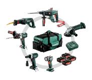 Metabo Bouw & Renovatie - 6 machines Combiset