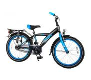 Volare Kinderfietsen Thombike City Single Speed 20'' Mat Black