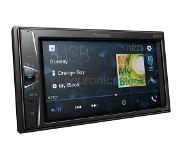 Pioneer DMH-G220BT touchscreen tuner met BT, USB, Aux-in