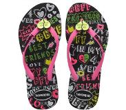 Havaianas Slipper Havaianas Kids Slim BFF Black-Schoenmaat 37 - 38