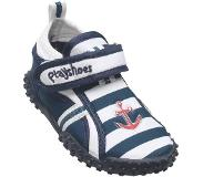 Playshoes waterschoenen marine junior blauw/wit maat 22/23