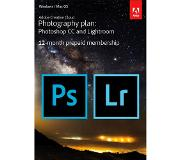 Adobe Creative Cloud Photography Plan - 1 Apparaat - 1 Jaar - 20GB Cloudopslag - Nederlands / Engels - Windows / Mac Download
