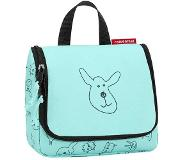 Reisenthel Kids Toiletbag S Cats and Dogs mint Toilettas