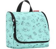 Reisenthel Kids Toiletbag Cats and Dogs mint Toilettas