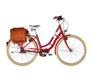 "Ortler E-Summerfield 7-speed Dames, classic red 55cm (28"") 2020 E-bikes urban"
