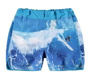 Name it KIDS zwemshort Zakirs blauw Blauw 128