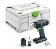Festool T 18+3-Basic Schroefboormachine