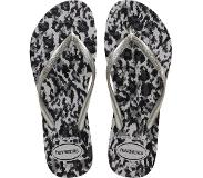 Havaianas Slipper Havaianas Women Slim Animals Grey Silver Ice Grey-Schoenmaat 41 - 42