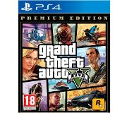 Playstation 4 Grand Theft Auto V (GTA 5) Premium Online Edition