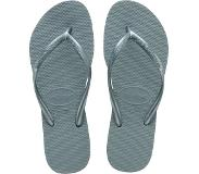 Havaianas Slipper Havaianas Women Slim Silver Blue-Schoenmaat 41 - 42