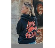 Colourful Rebel Dames Hoodie Zwart - Basic Fit - Polyester