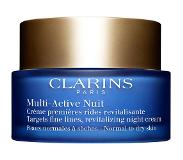 Clarins Multi-Active Nuit - Normal to Dry Skin Nachtverzorging 50ml